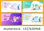 template for landing page ... | Shutterstock .eps vector #1527630968