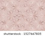 christmas rose gold glitter... | Shutterstock .eps vector #1527667835