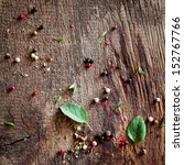 Background Of Peppercorns And...