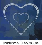 valentines holiday day. 2d...   Shutterstock . vector #1527703205