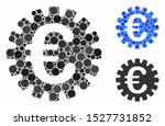 euro cog composition of small... | Shutterstock .eps vector #1527731852
