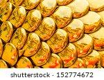 golden dragon texture... | Shutterstock . vector #152774672