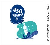 450 years. how long decompos... | Shutterstock .eps vector #1527767678
