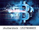 mining of crypto currency.... | Shutterstock . vector #1527808805