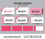 coupon fashion ticket card ... | Shutterstock .eps vector #1527819218