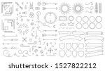 retro line emblem elements.... | Shutterstock . vector #1527822212
