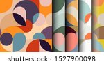 seamless pattern in geometric... | Shutterstock .eps vector #1527900098