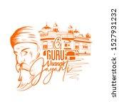 guru nanak jayanti festival of... | Shutterstock .eps vector #1527931232