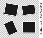 set of photo frame. photo... | Shutterstock .eps vector #1527968858
