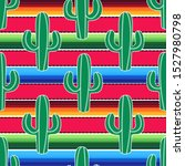green cacti on the background... | Shutterstock .eps vector #1527980798