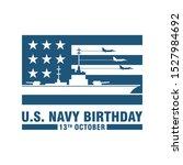 Logo Of U.s. Navy Birthday....