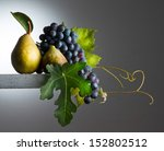 Still Life With  Autumnal Fruits