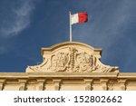 Malta Flag In Blu Sky