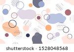 geometric modern abstract... | Shutterstock .eps vector #1528048568