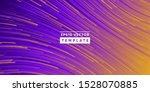 abstract background design wavy ... | Shutterstock .eps vector #1528070885