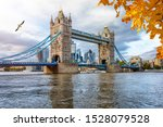 London In Autumn Concept  The...