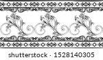 black ornament vintage seamless ...   Shutterstock .eps vector #1528140305