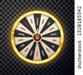 casino spinning lucky wheel...   Shutterstock .eps vector #1528185542