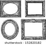 antique frames | Shutterstock .eps vector #152820182