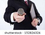 man interviews | Shutterstock . vector #152826326