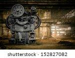 abandoned metallurgical factory ... | Shutterstock . vector #152827082