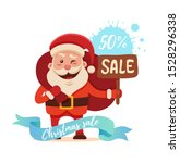 cartoon santa claus for your... | Shutterstock . vector #1528296338