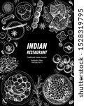 indian food illustration. hand... | Shutterstock .eps vector #1528319795