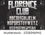 alphabet fonts. typography... | Shutterstock .eps vector #1528346942