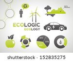 ecology elements and icons for... | Shutterstock .eps vector #152835275