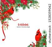 Cardinal Bird And Christmas...