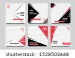 black red sale social media... | Shutterstock .eps vector #1528503668