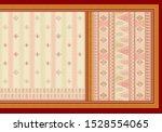 digital print  design home bed... | Shutterstock . vector #1528554065