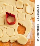 Apple Shaped Cookie Cutter On...