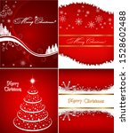 happy new year greeting card | Shutterstock .eps vector #1528602488