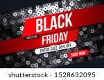 modern black friday banner with ...   Shutterstock .eps vector #1528632095