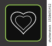 heart love icon for your design ... | Shutterstock . vector #1528651412