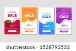 dynamic modern fluid mobile for ... | Shutterstock .eps vector #1528792532