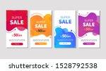 dynamic modern fluid mobile for ... | Shutterstock .eps vector #1528792538