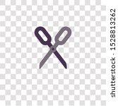 scissors icon sign and symbol....