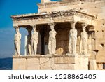 The Marble Statues Of Caryatids ...