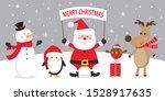 cute christmas character  santa ...