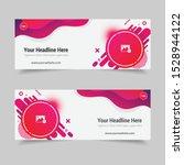 social media cover design... | Shutterstock .eps vector #1528944122