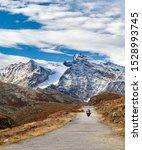 Motorcycle Bike On Mountain...