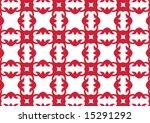 ottoman style wallpaper pattern ... | Shutterstock .eps vector #15291292