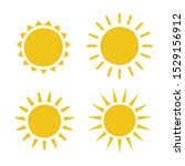 sun icon illustration. sunshine ...