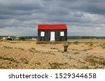 The Red Roofed Fishermen\'s Hut...