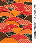 a japanese style background   | Shutterstock .eps vector #152935295