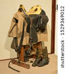 An American Cavalry saddle from the American Civil war