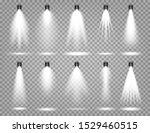 Vector Spotlight Set. Bright...