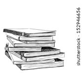books sketch   vector eps.10 | Shutterstock .eps vector #152946656